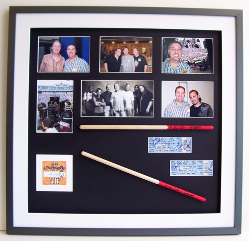 Allman Brothers Signed Memorabilia  Drumsticks, Concert Tickets, VIP Pass & Photos