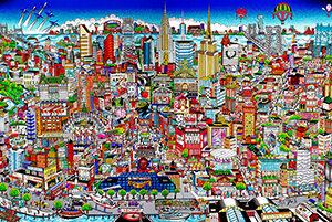Manhattan Mural: An Island