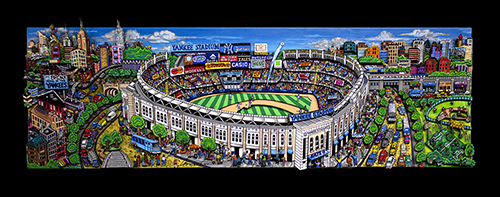 Yankee Stadium and a Slice