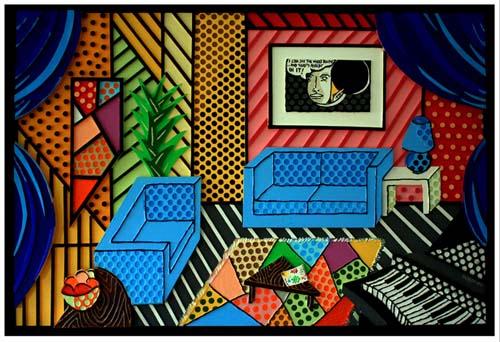 Homage To Lichtenstein Inte