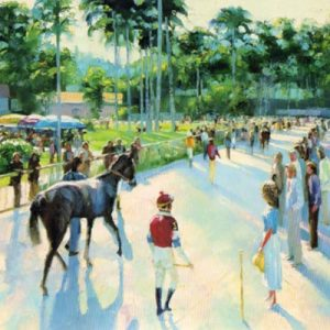 A Day At The Races - Canvas