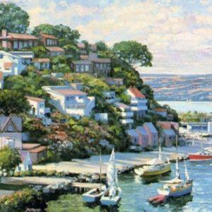 Sausalito Panorama - Canvas