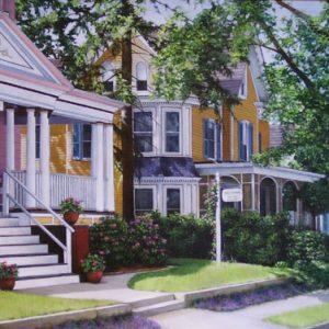 Street of Memories Painting