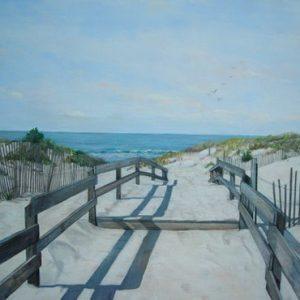 Walkway On The Beach LB 175
