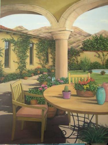 Adobe Courtyard LB185