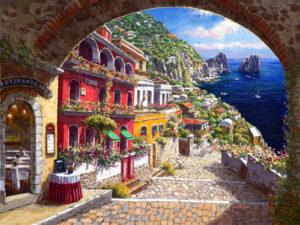 Archway to Capri