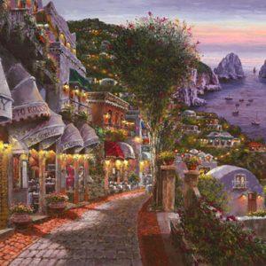 Evening in Capri