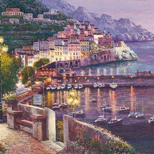 Twilight at Amalfi
