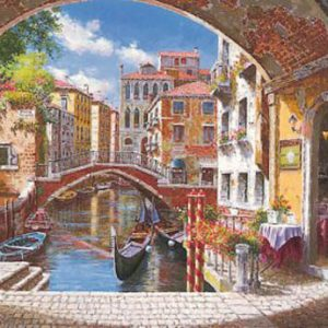 Archway to Venice