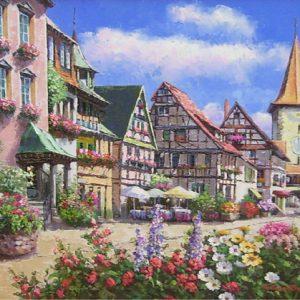 Colmar Alsace (Painting)