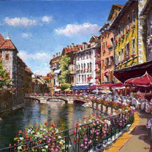 Springtime Annecy