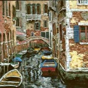 Venice Boats (Paper)
