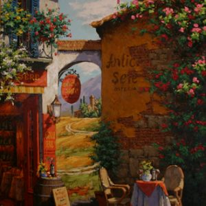 Under the Tuscan Arch
