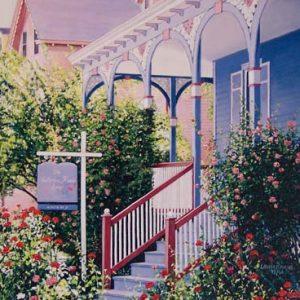 Victorian Rose Inn on Paper