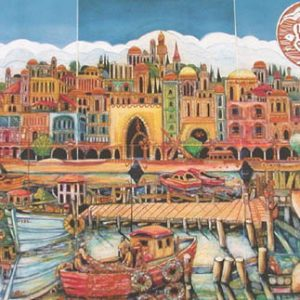 Port of Acco Etching