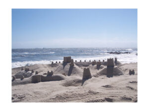 Fortress in the Sand- Large
