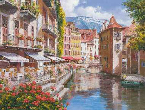 Afternoon in Annecy