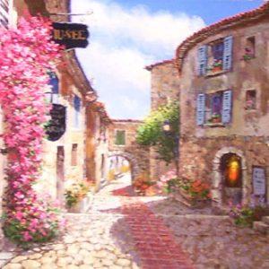 Eze Village (Painting)