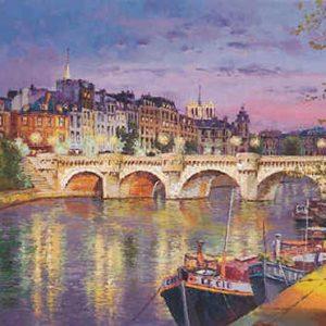Twilight at Pont Neuf