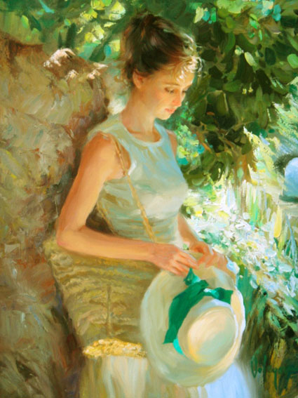 Pensive Shade -Painting