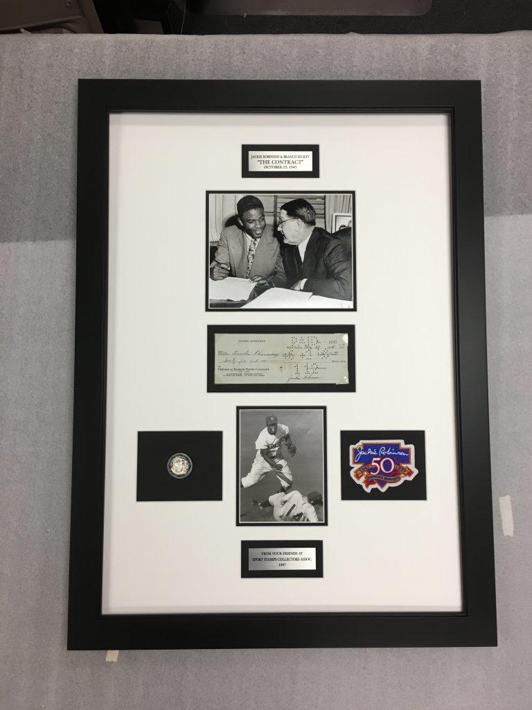 Jackie Robinson frame