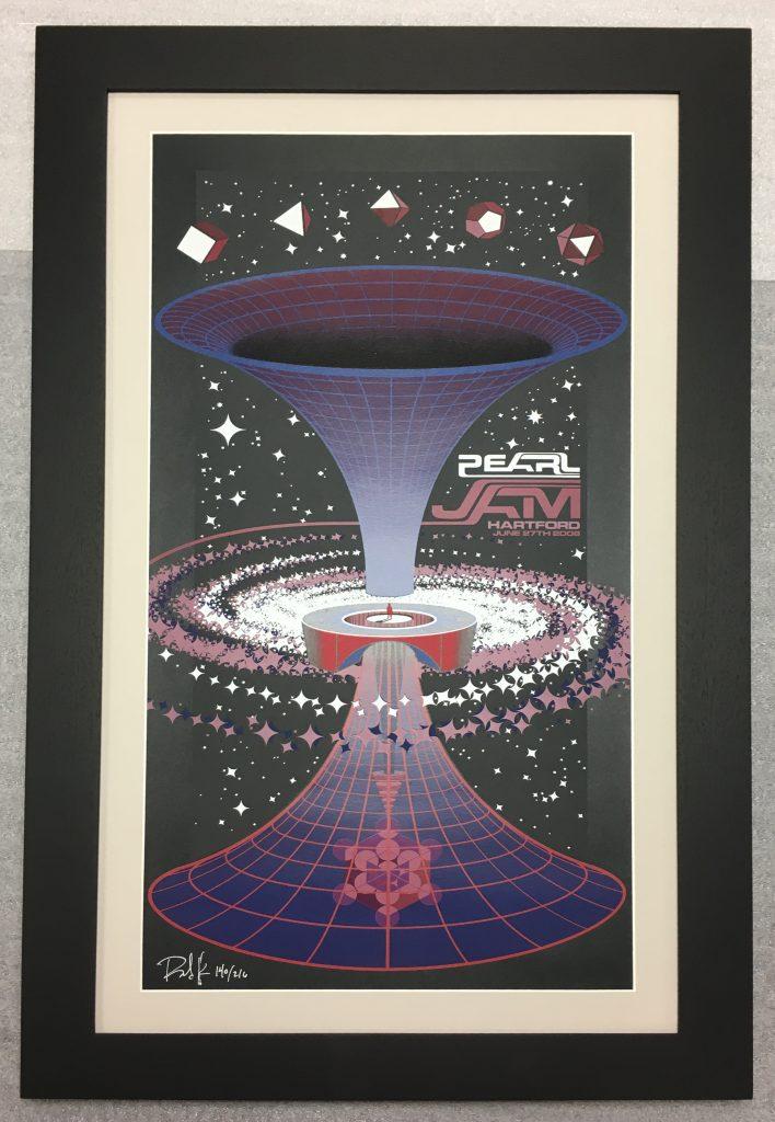 Pearl Jam Poster Framed