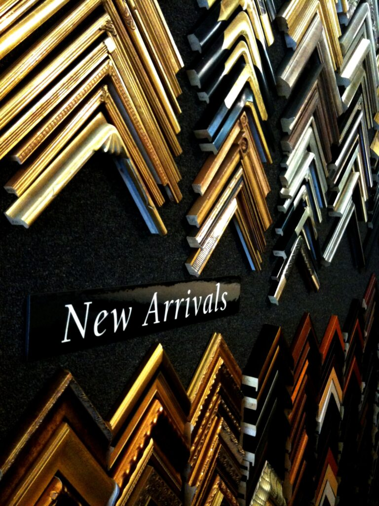 Click to view some of our extensive selection of wood based & metal frames