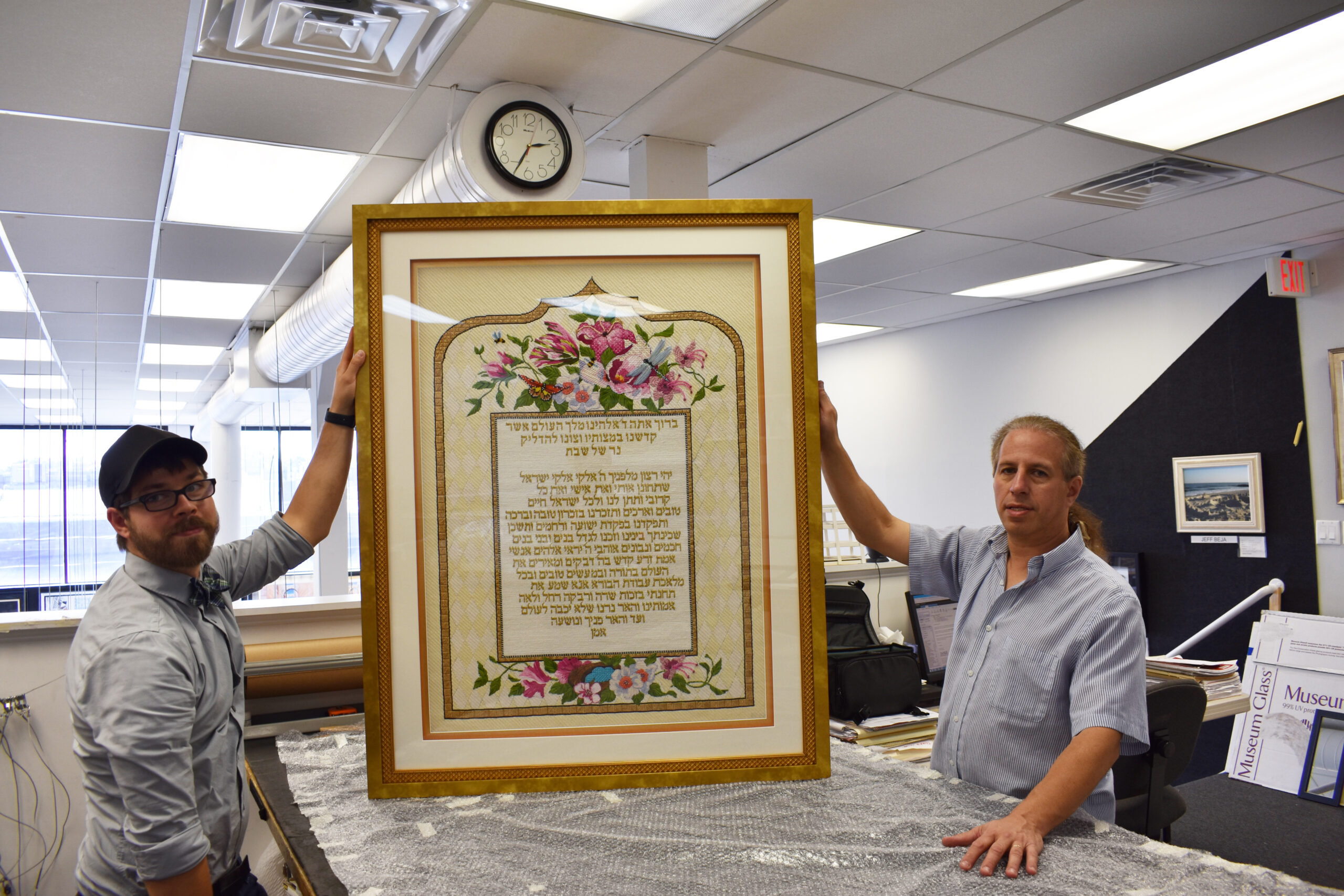 Expert custom picture framing done to museum standards