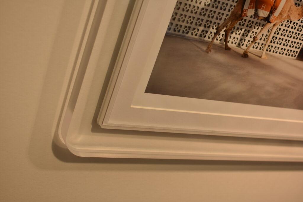 Clear Acrylic Prisma Frame