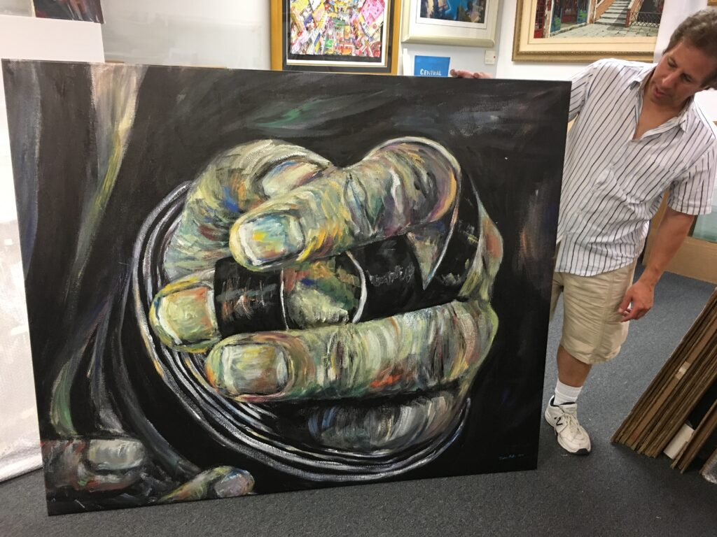 Judaic canvas hanging3