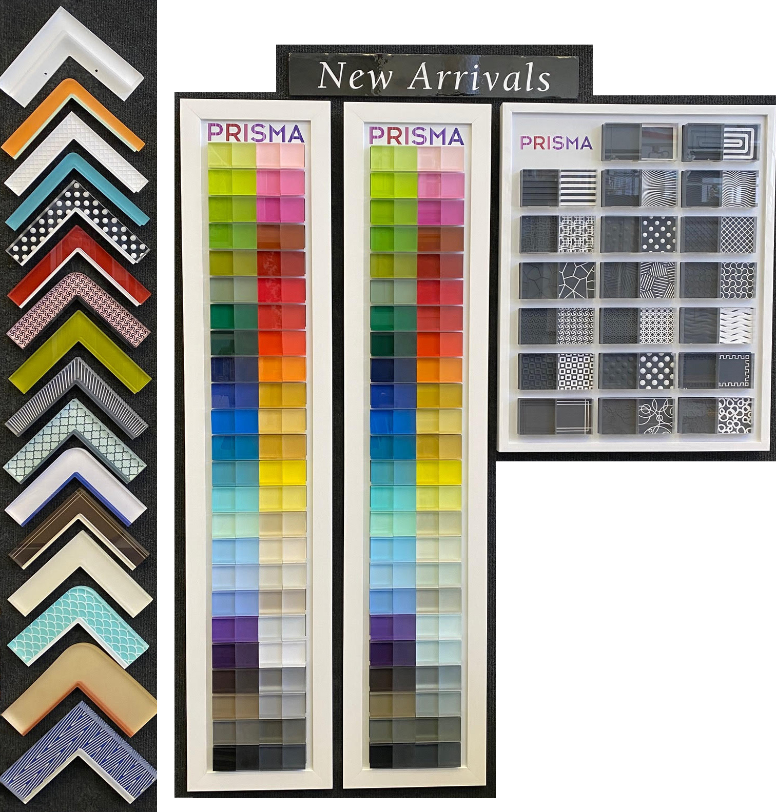 Click to view our customizable acrylic frames by Prisma